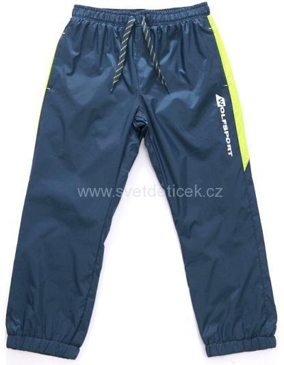 3bfd6b721f4 Dětské šusťákové kalhoty WOLF