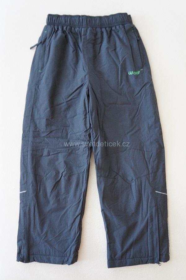 Dětské zateplené kalhoty WOLF, vel.146