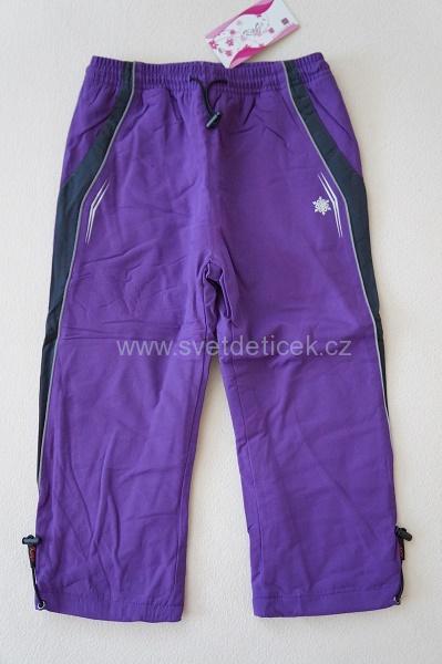 Dívčí zateplené kalhoty KUGO, vel.128