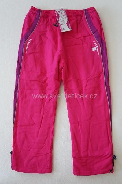 Dívčí zateplené kalhoty KUGO, vel.122