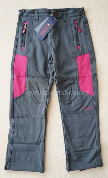 Softshellové zateplené kalhoty Grace, vel.152