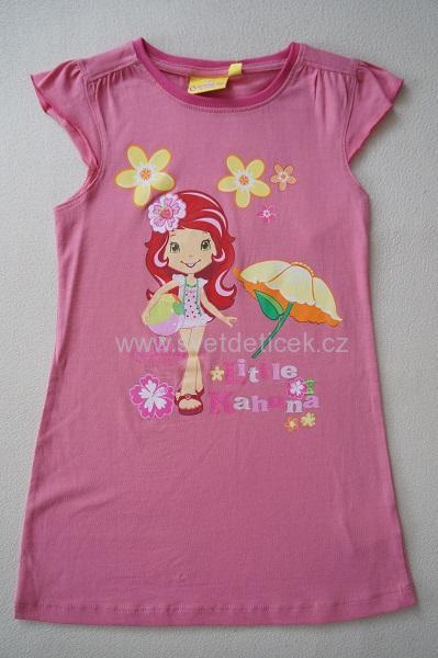 Dívčí noční košilka Jahůdka, vel.104