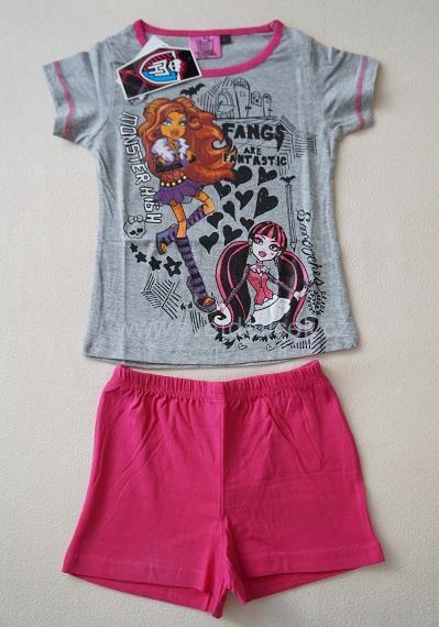 Dívčí pyžamo Monster High, vel.128