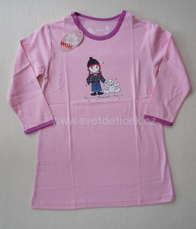 Dívčí noční košile Wolf, vel.104/110