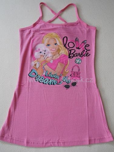 Dívčí šaty Barbie, vel.128