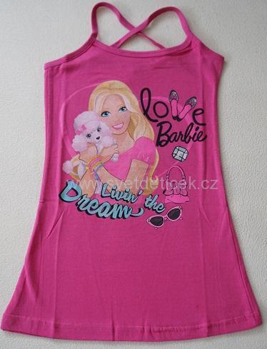Dívčí šaty Barbie, vel.116