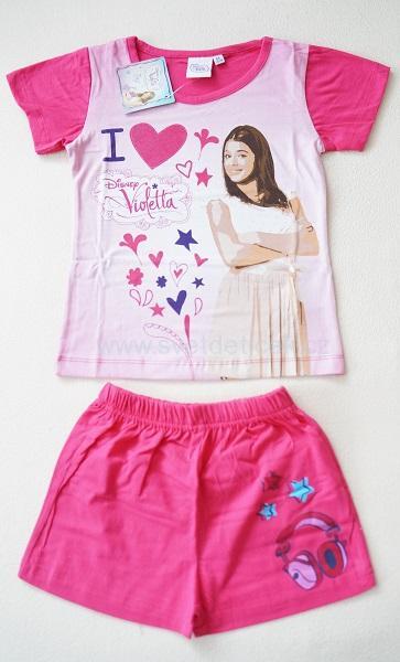 Dívčí pyžamo Violetta, vel.128