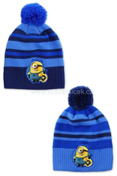 dd45b697af5 Chlapecká zimní čepice MIMONI (sv.modrá)
