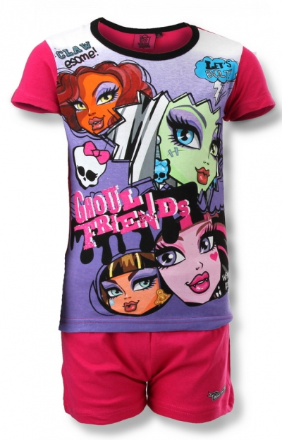 Dívčí pyžamo Monster High, vel.116