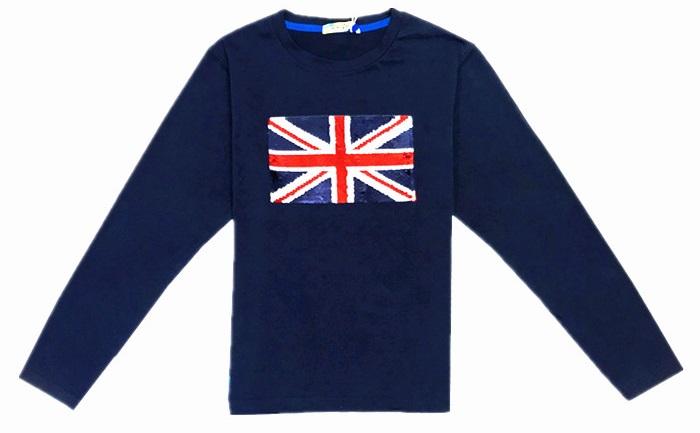 Chlapecké tričko KUGO s flitry, vel.164
