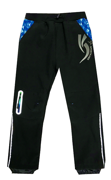 Softshellové teplé kalhoty KUGO, vel.128
