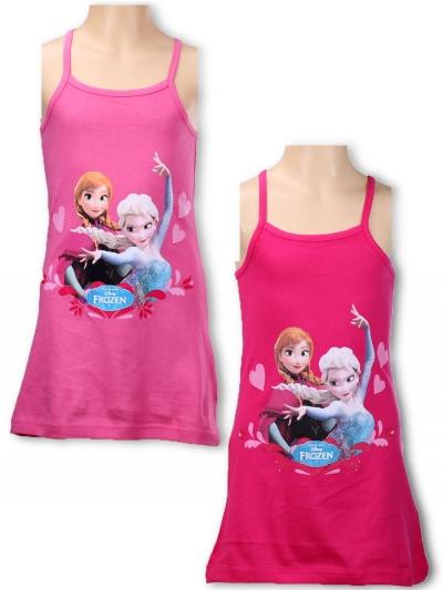 Dívčí šaty Frozen (tmavě růžové), vel.110