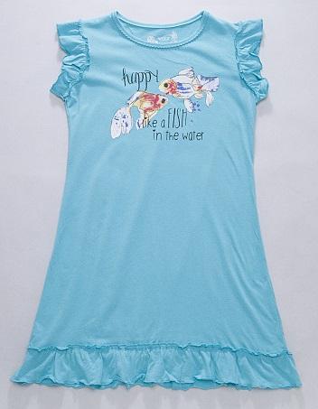 Dívčí noční košilka WOLF, vel.128