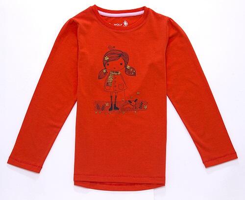 Dívčí tričko WOLF, vel.110
