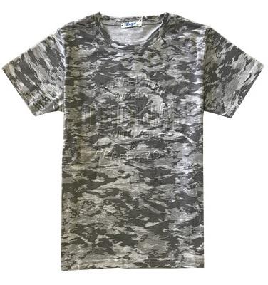 Chlapecké maskáčové tričko KUGO, vel.134