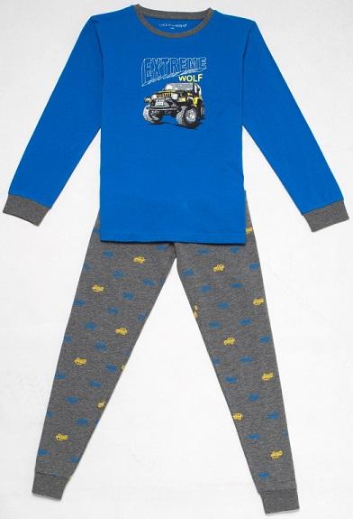 Chlapecké pyžamo s autem WOLF, vel.110