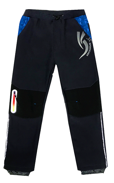 Softshellové teplé kalhoty KUGO, vel.122