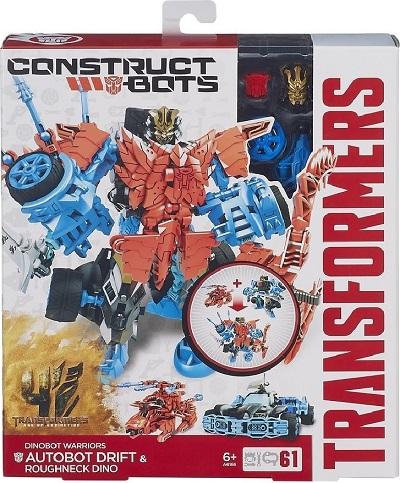 Transformer 4 CB Autobot Drift se zvířetem