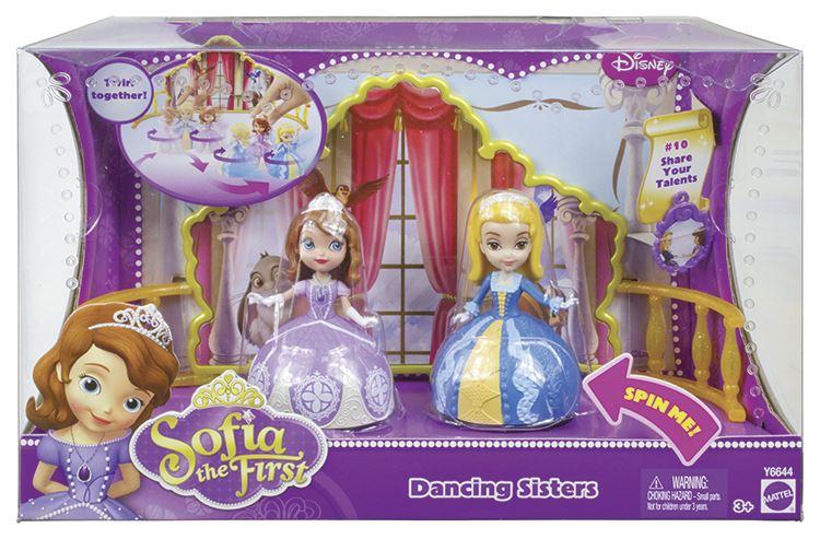 Fotografie Mattel Princezna Sofie tančící sestřičky