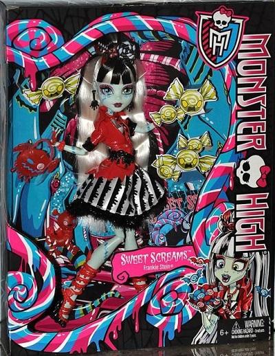 Panenka Monster High Killer Kandy BHN00