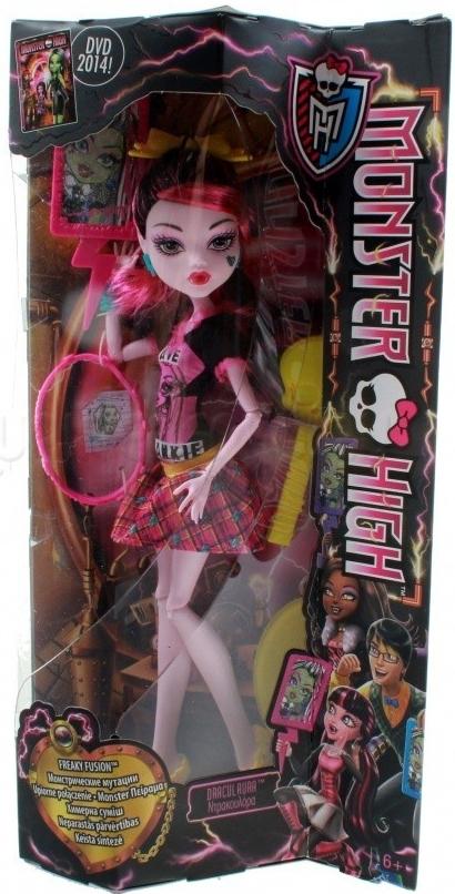 Panenka Monster High Záchranný tým