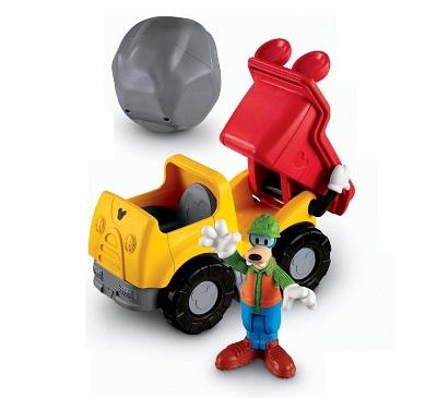 Mickey dopravní prostředky - Goofy a náklaďák